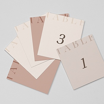 Marque Table Mariage - Blush Addict - 0