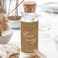 Étiquette bouteille mariage vin Couronne Florale gratuit