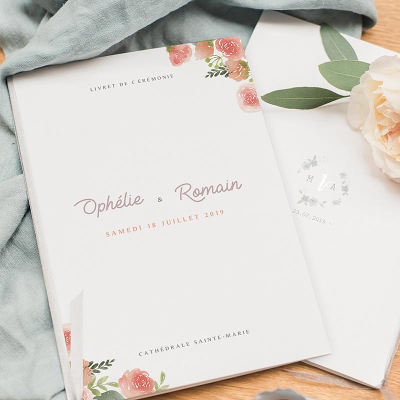 Livret messe mariage Couronne Florale pas cher