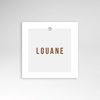 Étiquette Naissance - Landau Rétro - 0