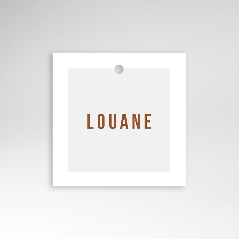 Etiquette Cadeau Naissance Landau Rétro