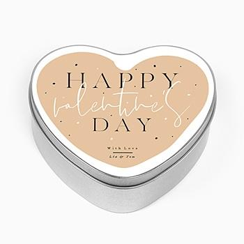 Boîte en métal personnalisée - Valentine's Day - 0