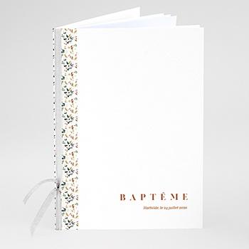Livret messe baptême personnalisé