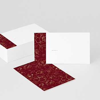 Achat marque table mariage fleurs marsala