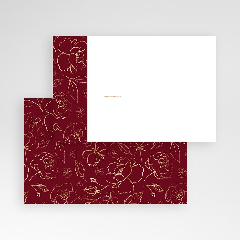 Marque Table Mariage Fleurs Marsala pas cher