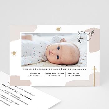 Faire-part Baptême Fille - Artsy - 0