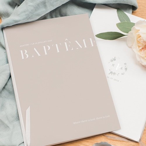 Livret Messe Baptême Décalé pas cher