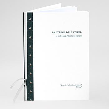Livret de messe baptême - Petit Navire - 0