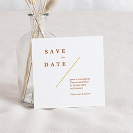 Save-The-Date Terrazzo Or