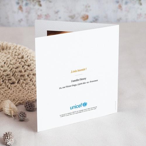 Faire-Part Naissance Fille UNICEF Matriochka Family gratuit