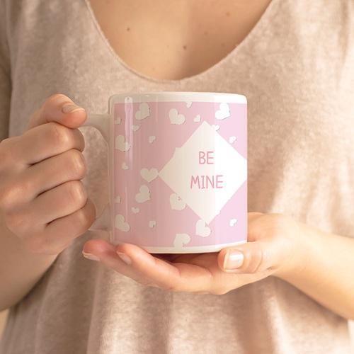 Mug Personnalisé Photo Fleurettes gratuit