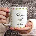Mug Amour Vert & Rouge gratuit