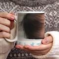 Mug Personnalisé Photo Animaux Bleus gratuit