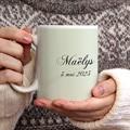 Mug Personnalisé Photo Gris-beige gratuit