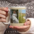 Mug Personnalisé Photo Mug de Communion - beige gratuit
