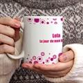 Mug Personnalisé Photo Trinquons - rose gratuit
