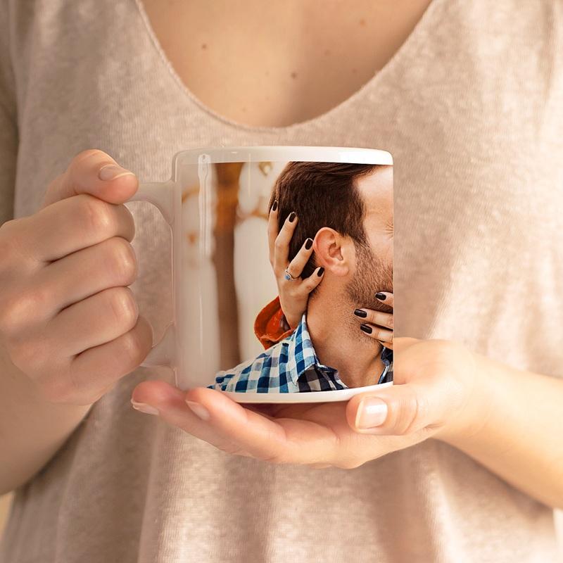 Mug Personnalisé Photo Saint Valentin gratuit