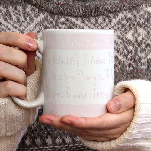 Mug Parlez Moi d'Amour gratuit