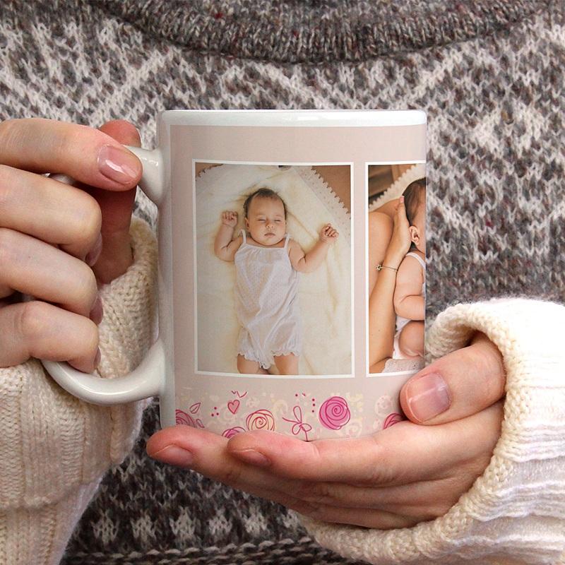 Mug Personnalisé Fête des Mères Cadeau original pas cher Bonne fête maman gratuit