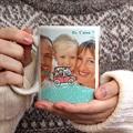 Mug Personnalisé Photo Fête des Pères, 3 photos gratuit