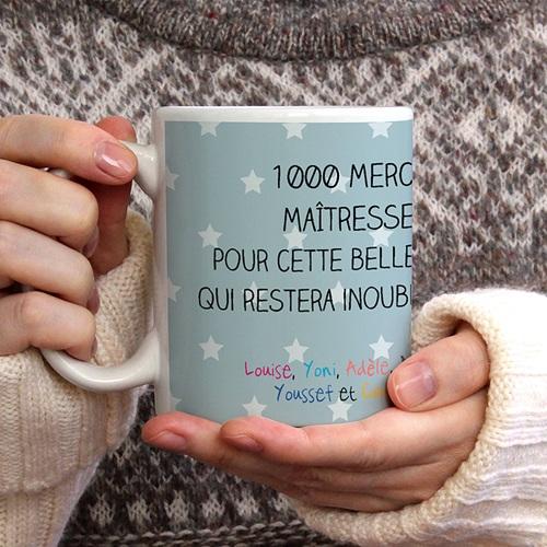 Mug Cadeau fin d'année gratuit