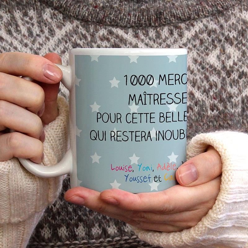 Mug Personnalisé Photo Cadeau fin d'année gratuit