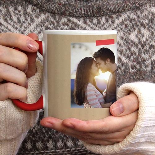 Mug Personnalisé de Couleur My Valentine gratuit