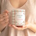 Mug Personnalisé Photo Triangles pastel gratuit