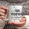 Mug Personnalisé Photo De jolis voeux gratuit