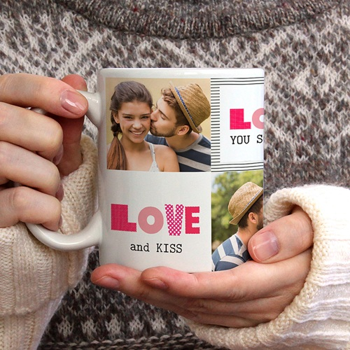 Mug Personnalisé Photo Love de toi gratuit