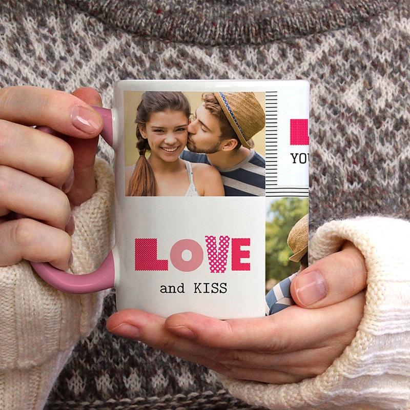 Mug Personnalisé de Couleur Love de toi gratuit