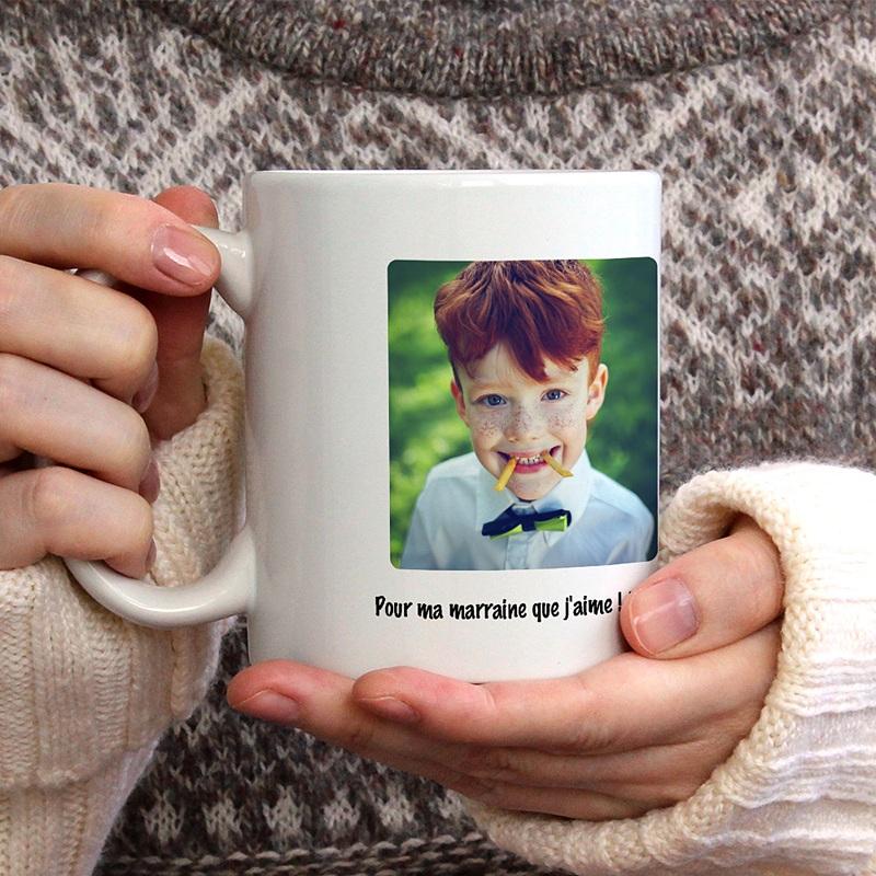 Mug Personnalisé Photo Festif gratuit
