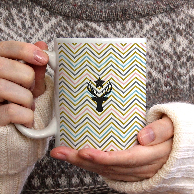 Mug Chevrons Cerf gratuit