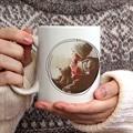 Mug Personnalisé Photo Sucres d'orges de Noel gratuit