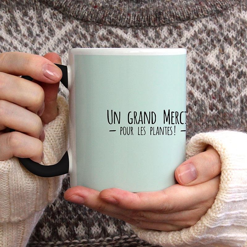 Mug Personnalisé Photo Merci pour les Plantes gratuit