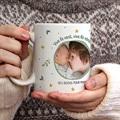 Mug Personnalisé Photo Hiver vert gratuit