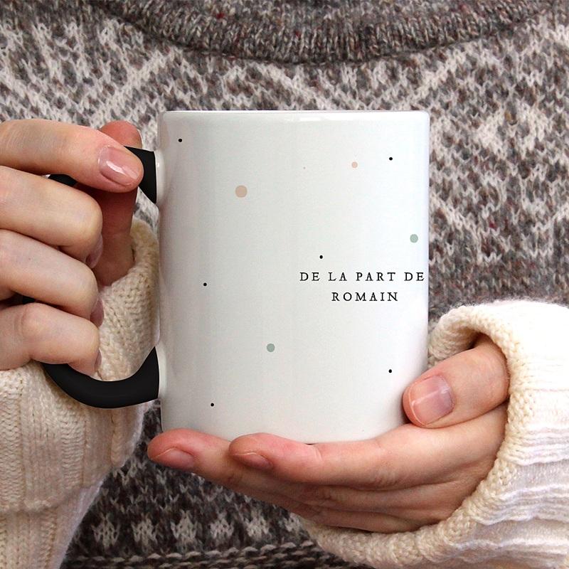 Mug Personnalisé de Couleur Cup cake gratuit