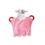 Doudou avec prénom brodé - Flora - Hochet avec anneau dentaire 7568 thumb