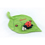 Doudou avec prénom brodé - Doudou Coccinelle 7614 thumb
