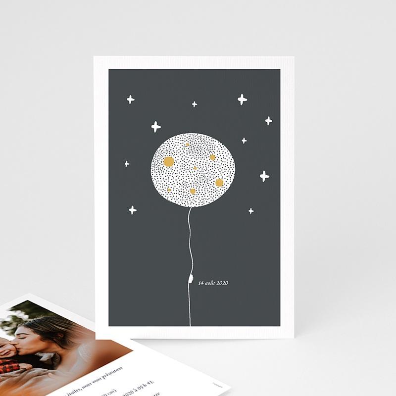 Faire-Part Naissance Créatif Lune Magique