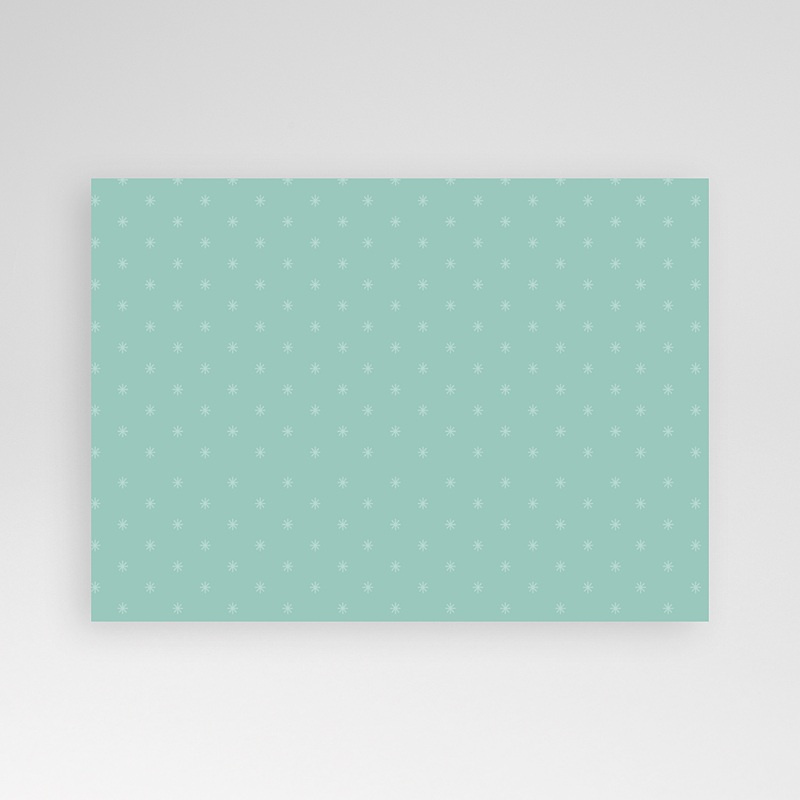 Carte personnalisée 1 photo Etoile et perles pas cher