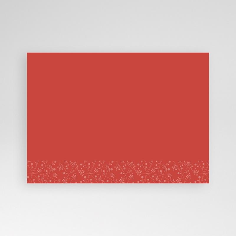 Carte personnalisée 1 photo Ruban rouge pas cher