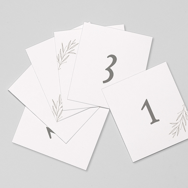 Marque Table Mariage Kinfolk Floral