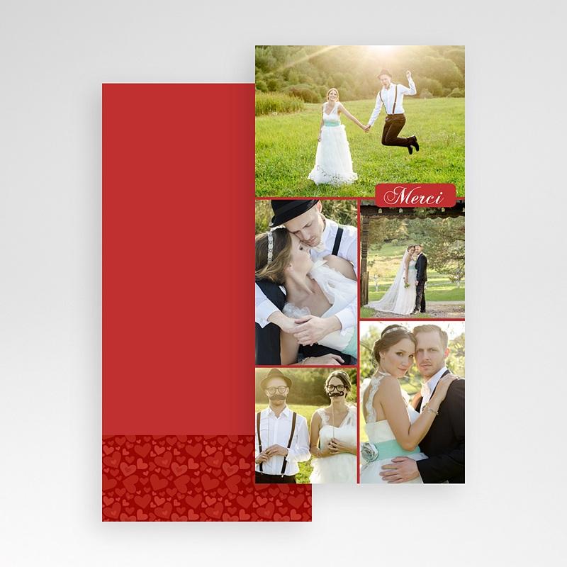 Cartes Multi-photos 3 & + - Cinq - Rouge 7664 thumb