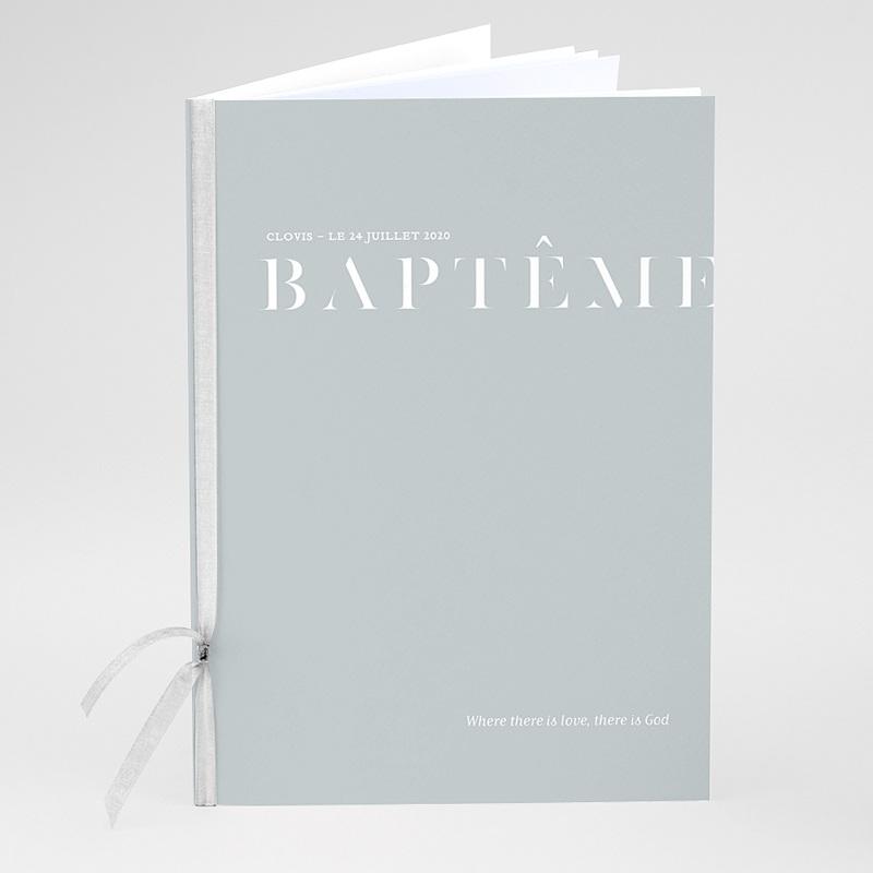 Livret Messe Baptême Pli décalé