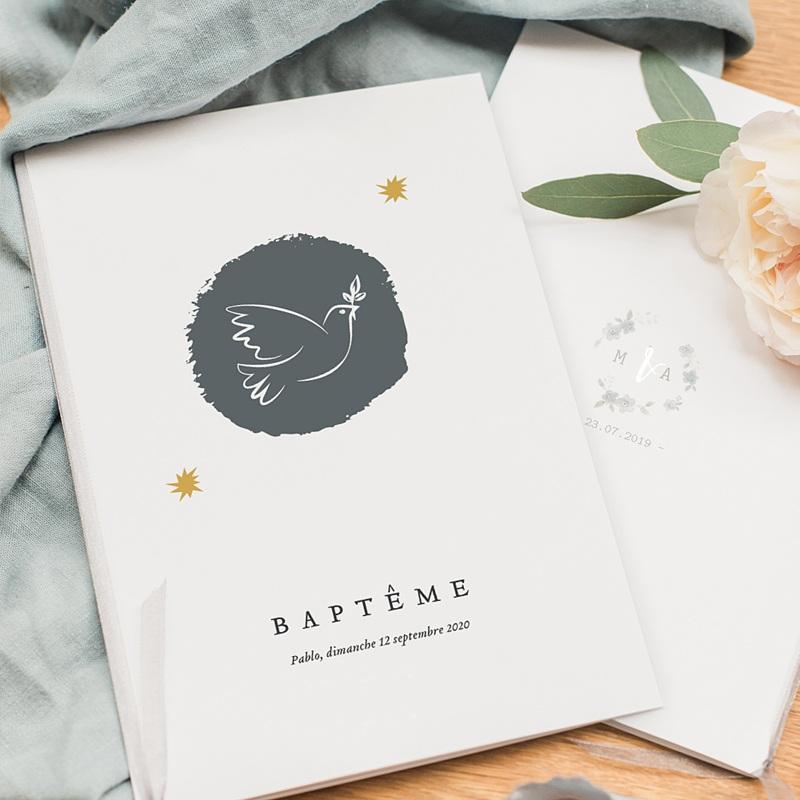 Livret Messe Baptême Artsy-Craftsy pas cher