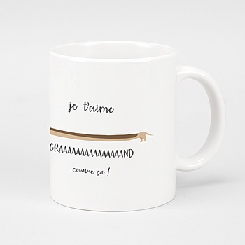 Mug fête des mêres Graaand comme çaaa ! personnalisable