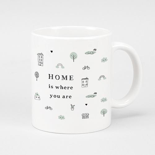 Mug Personnalisé Photo Sweet Home