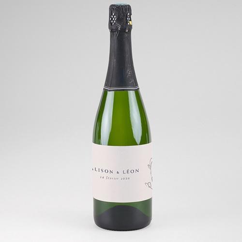 Etiquette Bouteille Champagne Inspiration Kinfolk