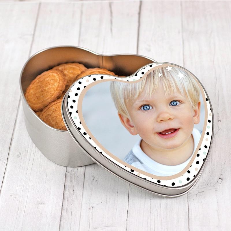 Boîte personnalisée Coeur d'Amour pas cher